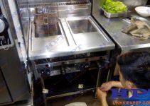 Kĩ thuật kiểm tra sửa chữa bếp chiên nhúng công nghiệp